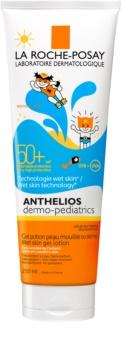 La Roche-Posay Anthelios Dermo-Pediatrics latte-gel protettivo per la pelle dei bambini SPF 50+