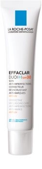 La Roche-Posay Effaclar DUO (+) korekcijska obnovitvena nega proti nepopolnostim kože in madežem po aknah SPF 30