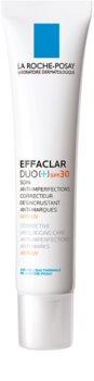 La Roche-Posay Effaclar DUO (+) korektivna obnavljajuća njega za nesavršenosti na licu i ožiljke od akni SPF 30