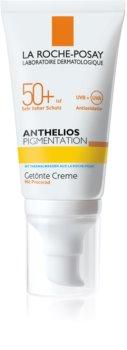 La Roche-Posay Anthelios Pigmentation schützende Tönungscreme gegen Pigmentflecken SPF 50+