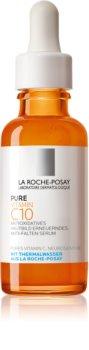 La Roche-Posay Pure Vitamin C10 озаряващ серум против бръчки с витамин С