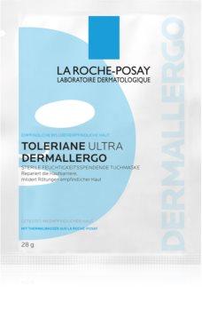 La Roche-Posay Toleriane Ultra Dermallergo plátýnková maska s hydratačním a zklidňujícím účinkem pro citlivou pleť