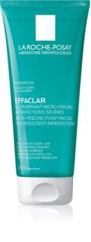 La Roche-Posay Effaclar gel exfoliant purifiant pour peaux grasses et à problèmes