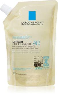 La Roche-Posay Lipikar Huile AP+ zvláčňující relipidační mycí olej proti podráždění náhradní náplň