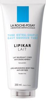 La Roche-Posay Lipikar Lait hidratáló testápoló tej Száraz, nagyon száraz bőrre