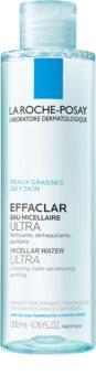 La Roche-Posay Effaclar Ultra água micelar de limpeza para pele problemática, acne