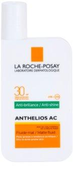 La Roche-Posay Anthelios ochronny fluid matujący do twarzy SPF 30