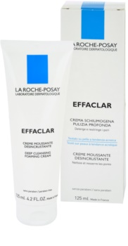 La Roche-Posay Effaclar Cleansing Foaming Cream for Problematic Skin, Acne