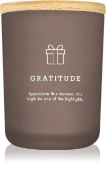 LAB Hygge Gratitude vonná svíčka (Patchouli Myrrh)