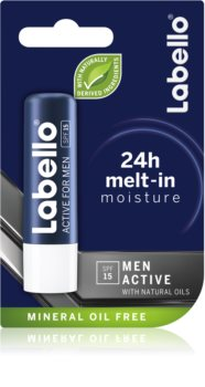Labello Active Care balsam do ust dla mężczyzn SPF 15