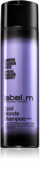 label.m Cool Blonde šampón pre blond vlasy neutralizujúci žlté tóny