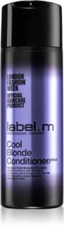 label.m Cool Blonde kondicionér pro blond vlasy neutralizující žluté tóny