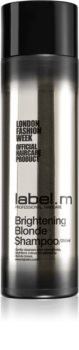 label.m Brightening Blonde Colour-Protecting Shampoo for Blonde Hair
