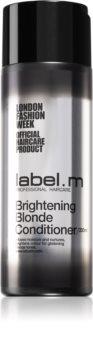 label.m Brightening Blonde озаряващ балсам за руса коса