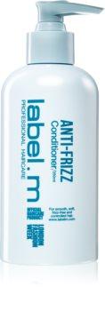 label.m Anti-Frizz kondicionér pro uhlazení nepoddajných a krepatých vlasů