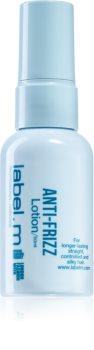 label.m Anti-Frizz leichte Milch zum Glätten von krausem Haar