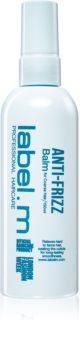 label.m Anti-Frizz balsamo nutriente per capelli estremamente secchi