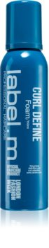 label.m Curl Define Hair Mousse for Curl Definition