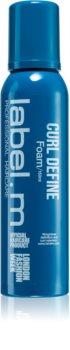 label.m Curl Define pěna na vlasy pro definici vln