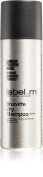 label.m Cleanse száraz sampon sötét hajra