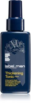 label.m Men folyékony gél a sűrű hajért