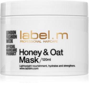 label.m Honey & Oat подхранваща и хидратираща маска за коса