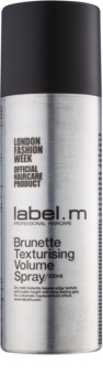 label.m Complete tvarující objemový sprej pro hnědé a tmavé odstíny vlasů