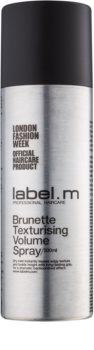 label.m Complete volume sprej za oblikovanje za smeđe i tamne nijanse boje kose