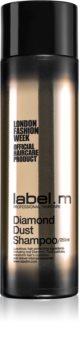 label.m Diamond Dust revitalisierendes Shampoo, um dem müden Haar seine Strahlkraft zurückzugeben