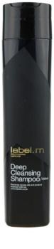 label.m Cleanse καθαριστικό σαμπουάν  για ευαίσθητο δέρμα της κεφαλής