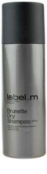 label.m Cleanse champú en seco para los tonos marrones del cabello
