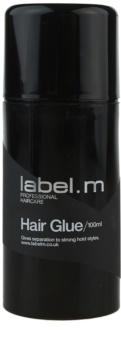 label.m Complete cola ultra forte para fixar as extensões de cabelo
