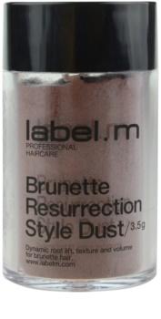 label.m Complete poudre cheveux pour cheveux bruns
