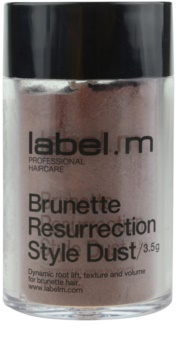 label.m Complete vlasový púder pre hnedé odtiene vlasov