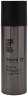 label.m Create fissante in mousse per capelli delicati