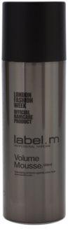 label.m Create мусс для укладки волос для тонких волос