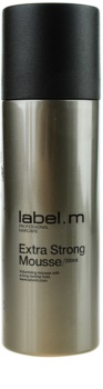 label.m Create Styling Mousse Extra Strong Hold