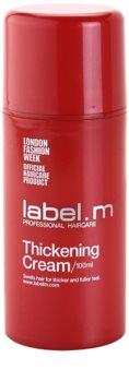 label.m Thickening creme de cabelo creme de cabelo  para volume e forma