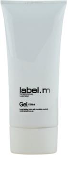 label.m Create гель для волос средняя фиксация