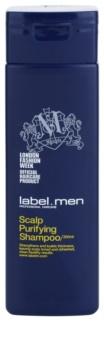label.m Men почистващ шампоан за коса и скалп