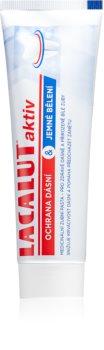 Lacalut Aktiv bleichende Zahnpasta für gesunde Zähne und Zahnfleisch