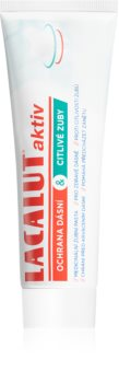 Lacalut Aktiv Ochrana dásní & Citlivé zuby zubní pasta pro ochranu zubů a dásní