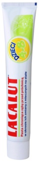 Lacalut Junior zubná pasta na obdobie výmeny mliečnych zubov za trvalé