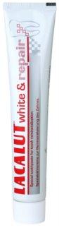Lacalut White & Repair dentífrico para renovar o esmalte dentário