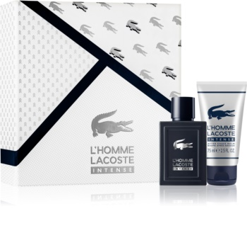 Lacoste L'Homme Lacoste Intense poklon set I. za muškarce