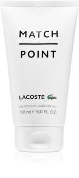 Lacoste Match Point Shower Gel for Men