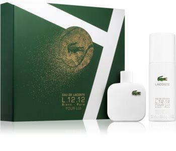 Lacoste Eau de Lacoste L.12.12 Blanc confezione regalo per uomo