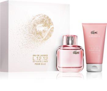 Lacoste Eau de Lacoste L.12.12 Pour Elle Sparkling Presentförpackning III. för Kvinnor