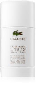Lacoste Eau de Lacoste L.12.12 Blanc desodorante en barra para hombre