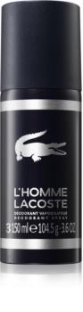 Lacoste L'Homme Lacoste deodorant spray para homens